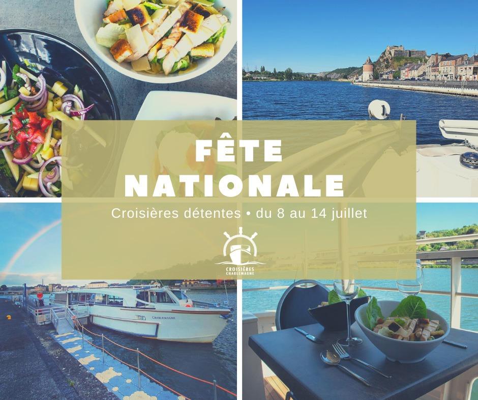Fête Nationale sur le Charlemagne