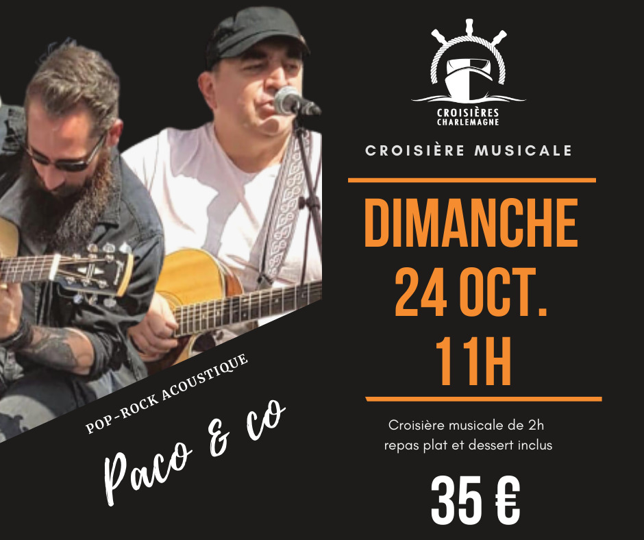 Croisière musicale Paco & Co