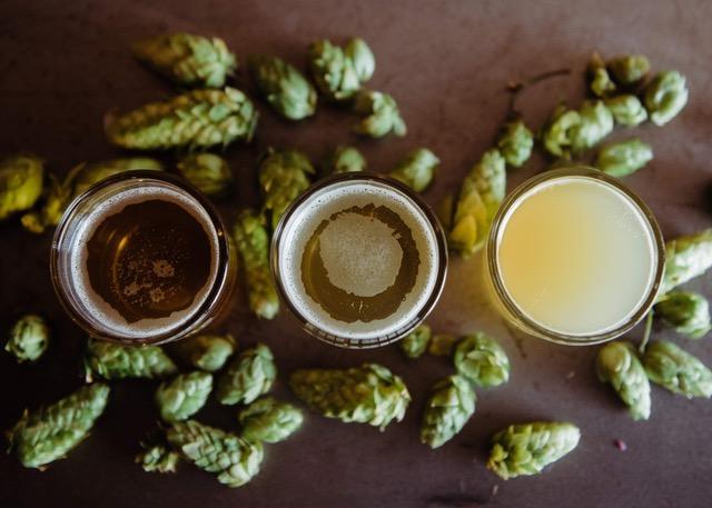 Crosiière sur le thème de la bière
